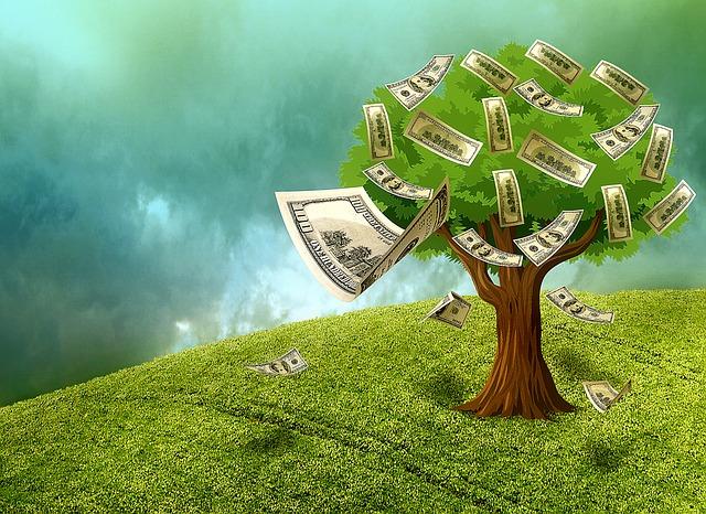 Strom, peníze