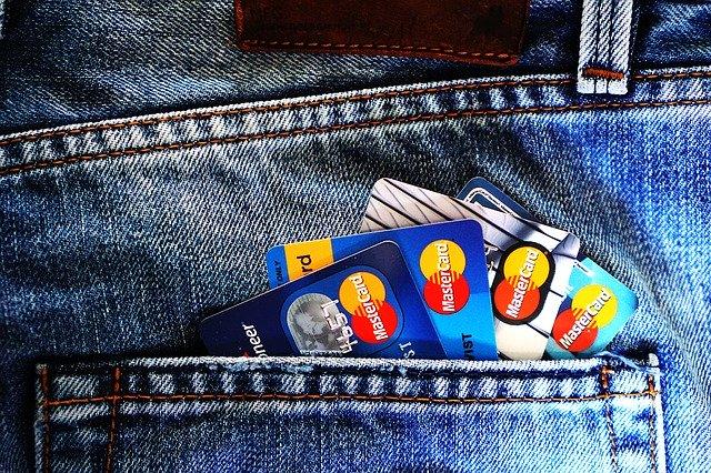 Kapsa, platební karty